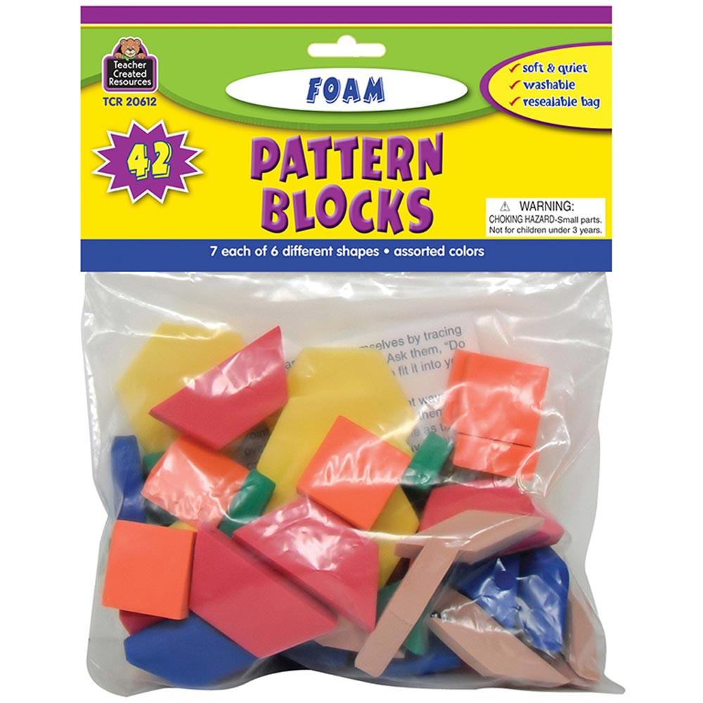 TCR20612 - Foam Pattern Blocks in Patterning