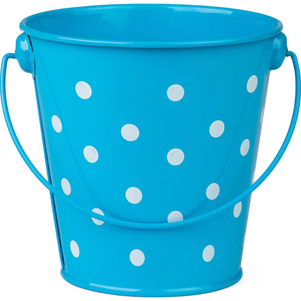 TCR20823 - Aqua Polka Dots Bucket in Sand & Water