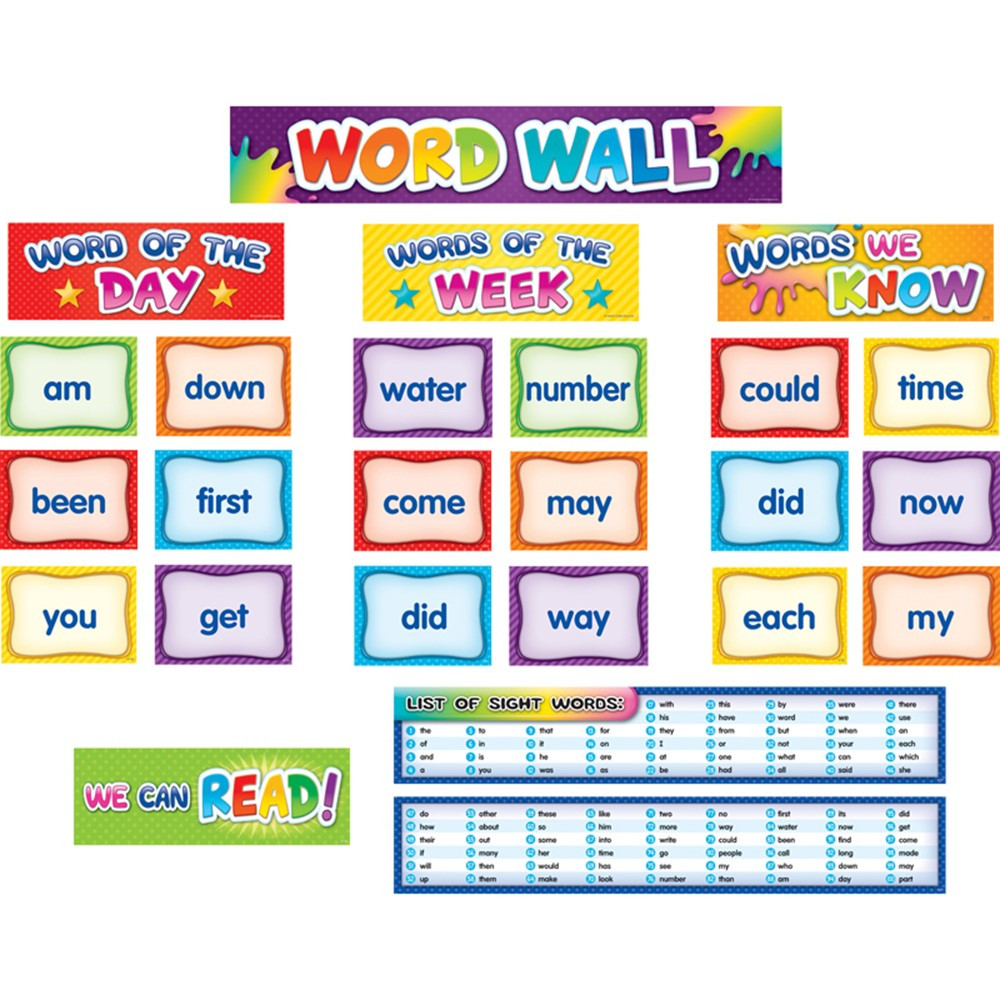 TCR20845 - 1St 100 Sght Words Pocket Cht Cards in Sight Words