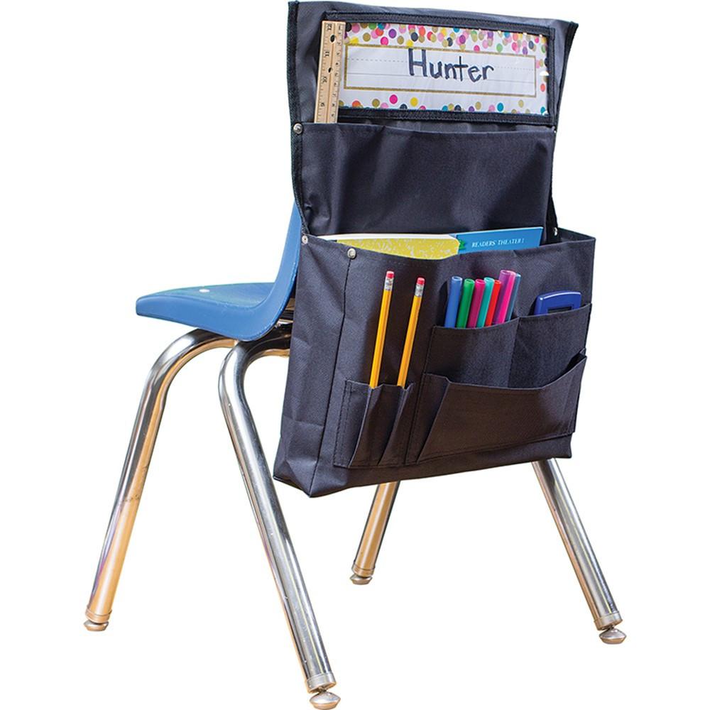 Black Chair Pocket Tcr20883 Teacher Created Resources Storage