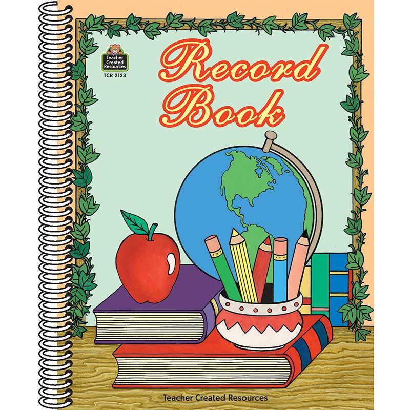 TCR2123 - Record Book Globe in Plan & Record Books