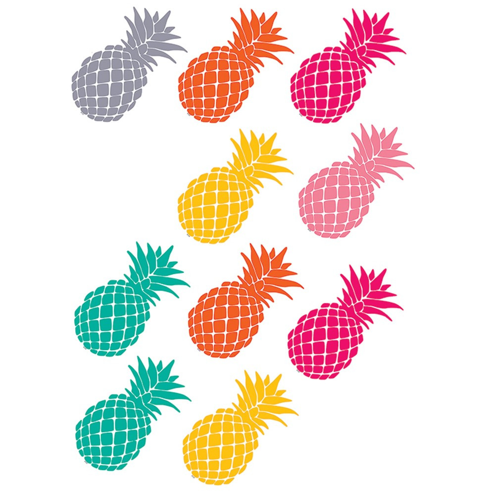 TCR2156 - Tropical Punch Pineapples Accents in Accents