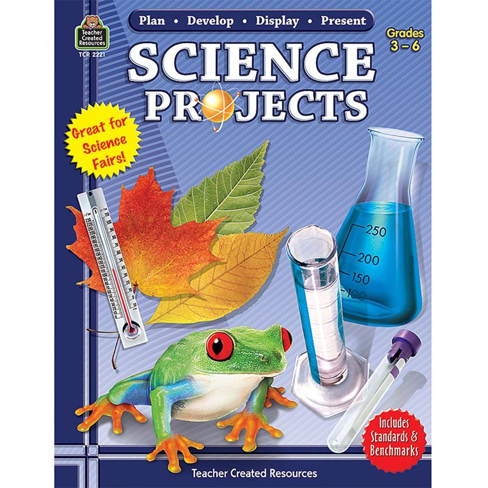 TCR2221 - Pln-Develop-Disply-Present Sci Proj in Science Fair