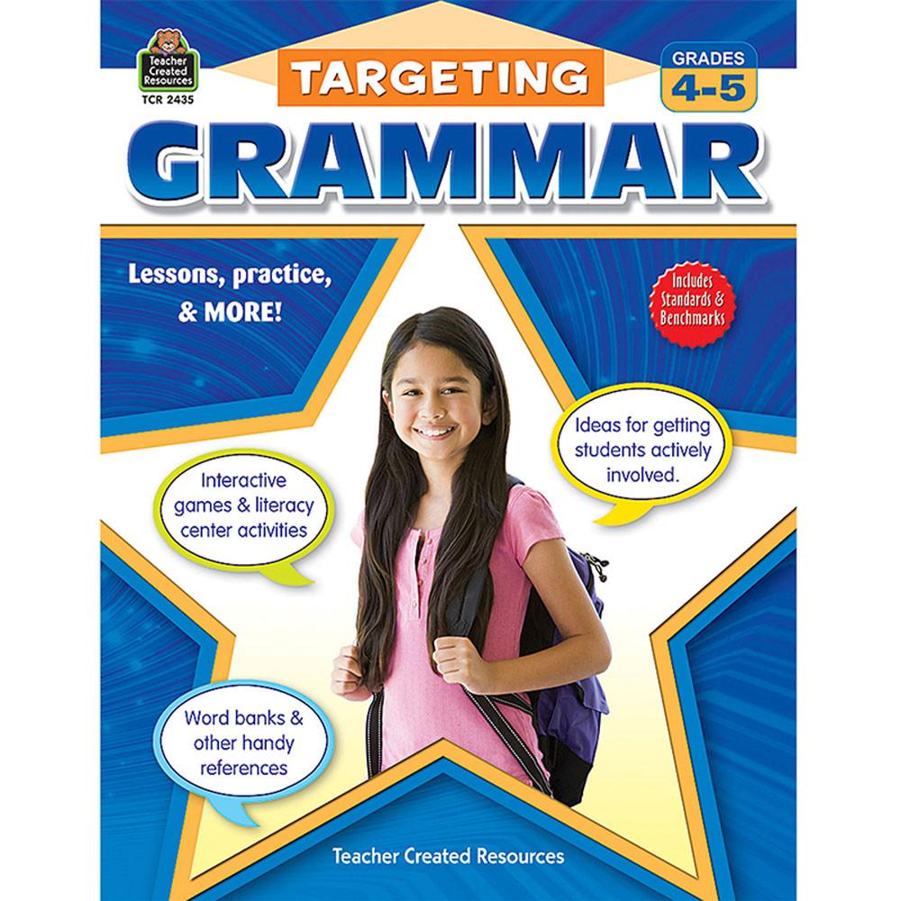 TCR2435 - Targeting Grammar Gr 4-5 in Grammar Skills