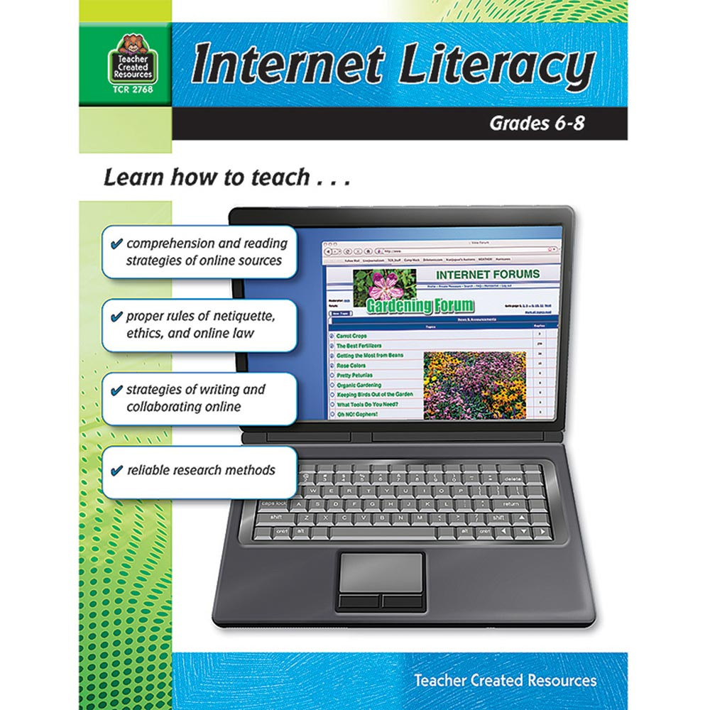 TCR2768 - Internet Literacy Gr 6-8 in Resource Books