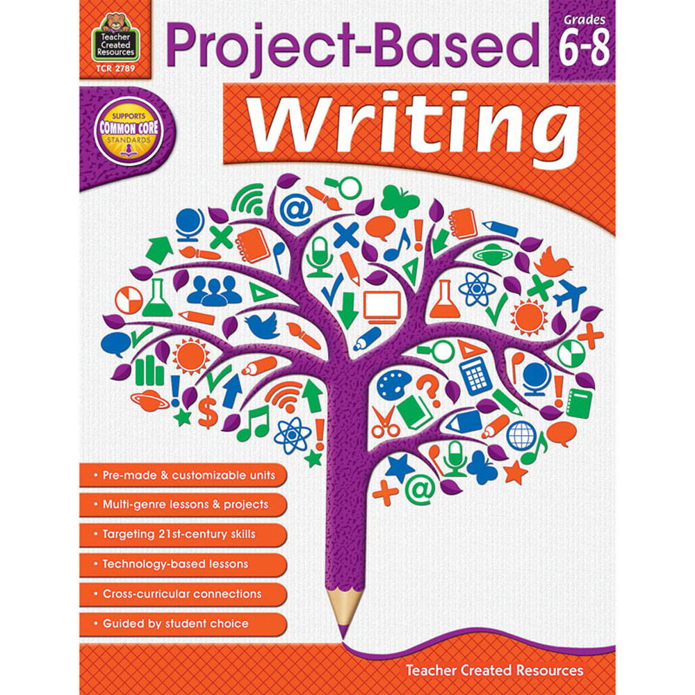 TCR2789 - Project Based Writing Gr 6-8 in Writing Skills