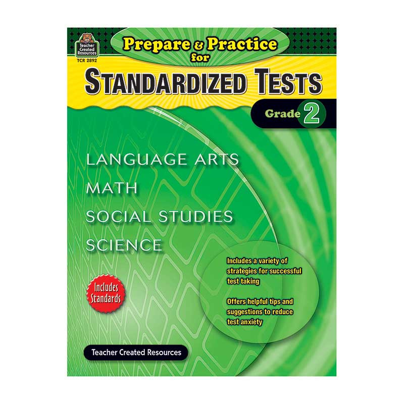 TCR2892 - Prepare & Practice For Standardized Tests Gr 2 in Cross-curriculum