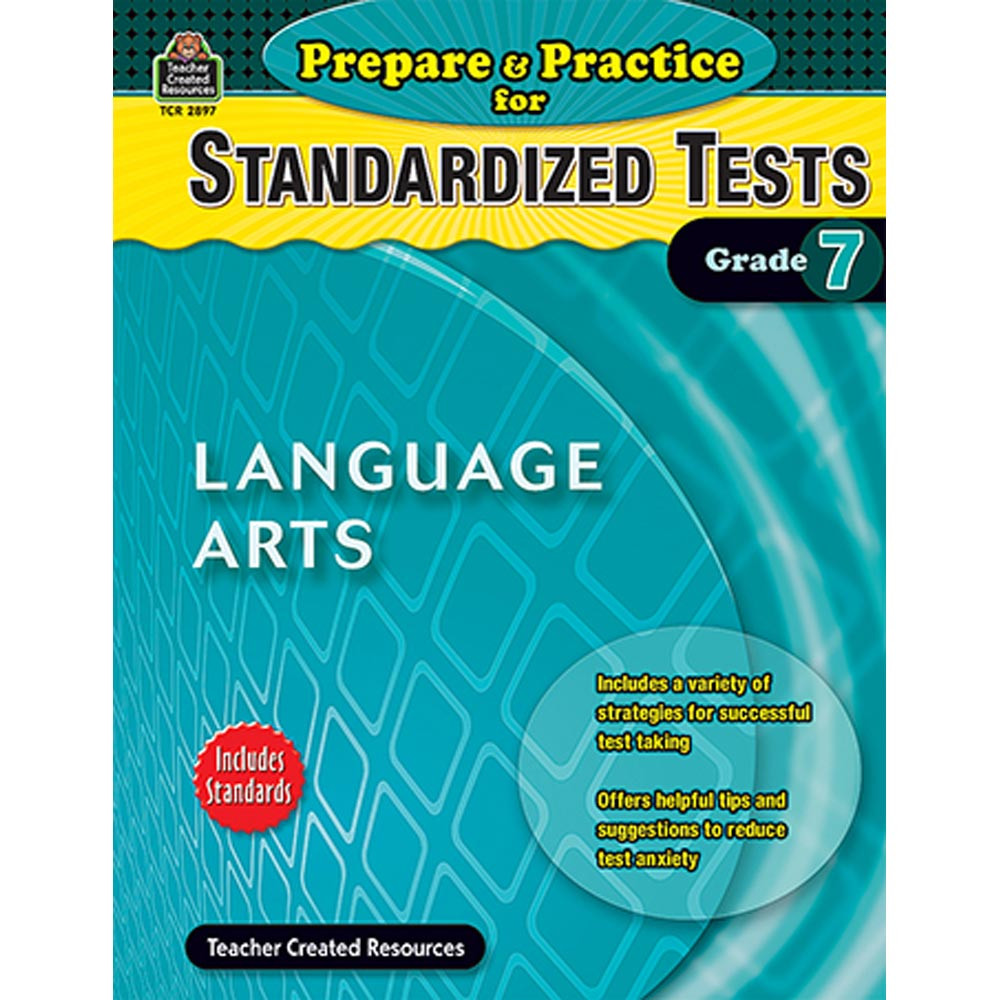 TCR2897 - Prepare & Practice For Standardized Tests Language Arts Gr 7 in Language Arts