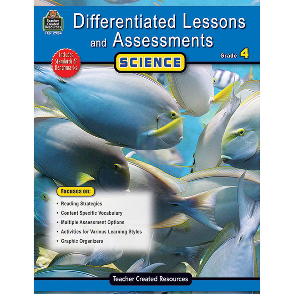 TCR2924 - Differentiated Lessons  Assessments Science Gr 4 in Differentiated Learning