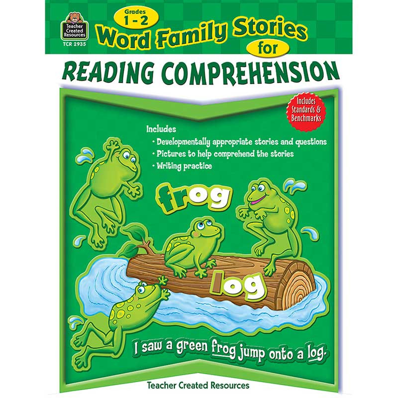 TCR2935 - Word Family Stories For Reading Comprehension Gr 1-2 in Comprehension