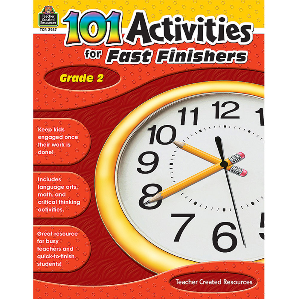 TCR2937 - Gr 2 101 Activities For Fast Finishers in Skill Builders