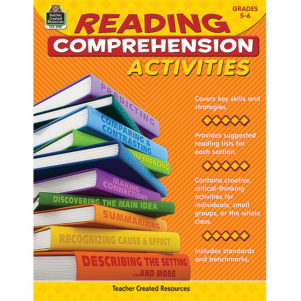 TCR2981 - Gr 5-6 Reading Comprehension Activities in Comprehension