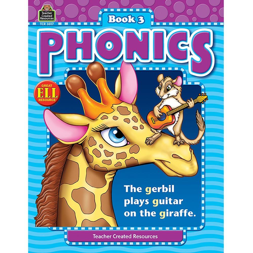 TCR3017 - Phonics Book 3 in Phonics