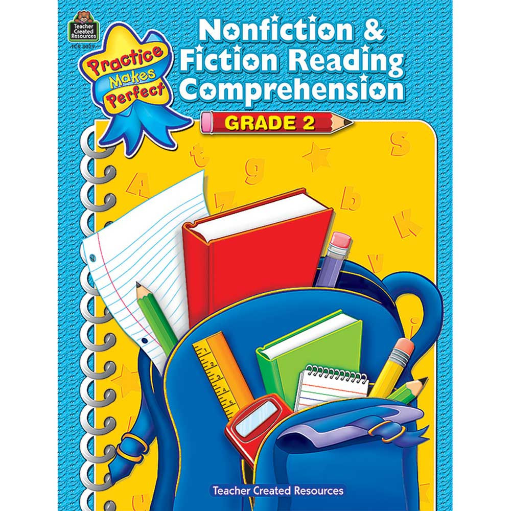 TCR3029 - Pmp Nonfiction & Fiction Reading Comprehension Gr 2 in Comprehension