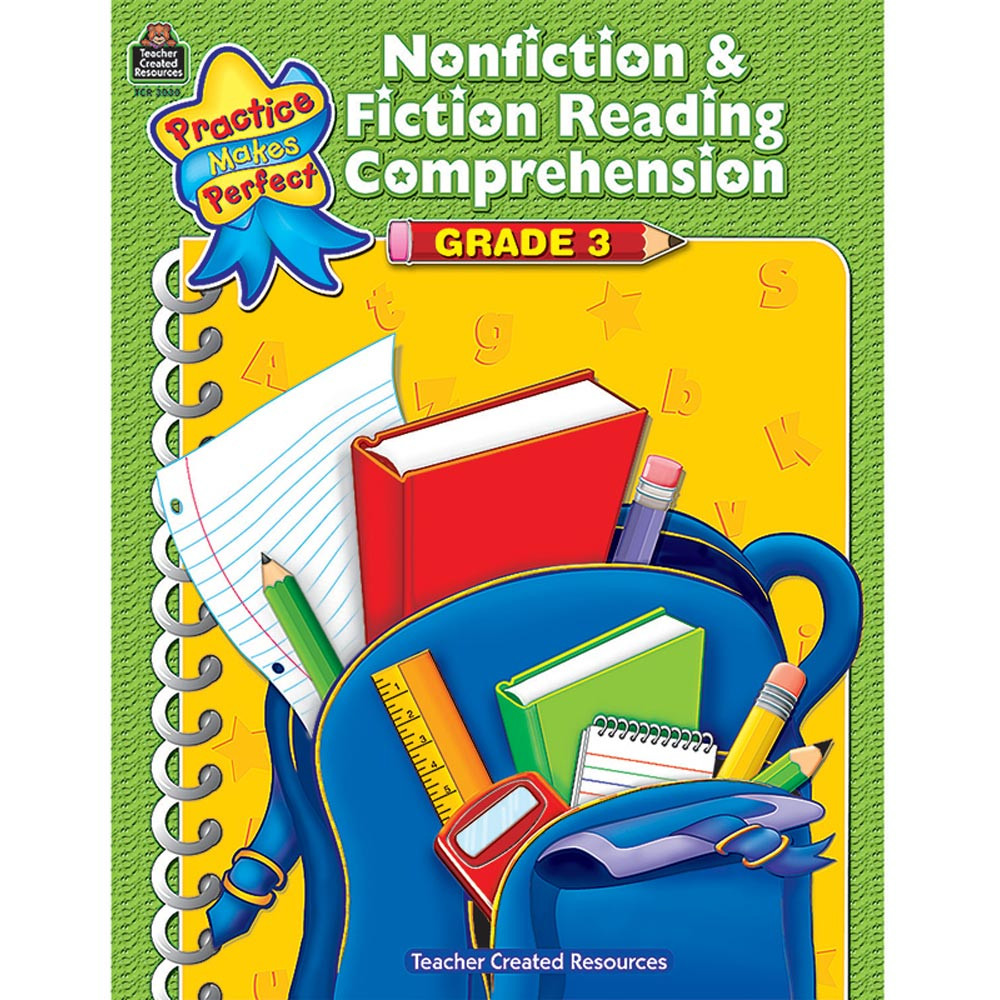 TCR3030 - Pmp Nonfiction & Fiction Reading Comprehension Gr 3 in Comprehension