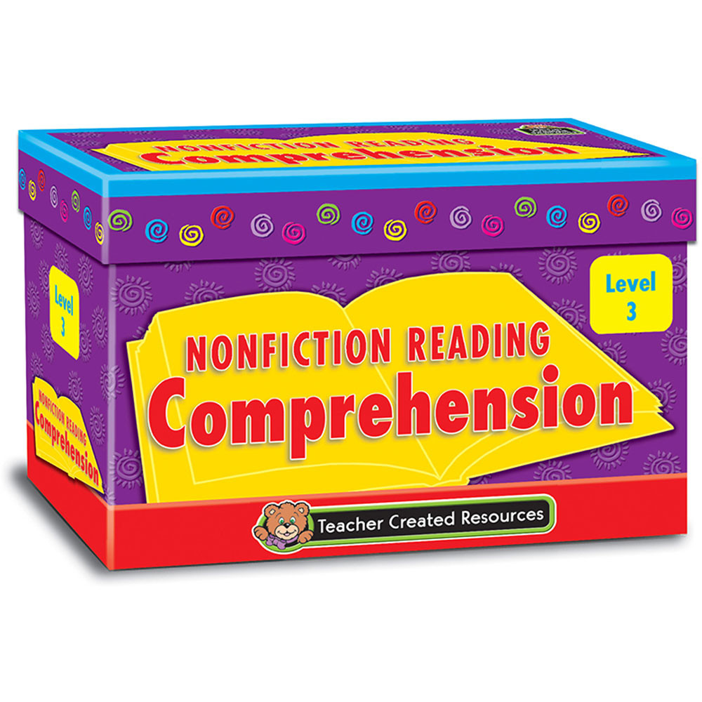 TCR3055 - Nonfiction Comprehension Cards Lvl3 in Comprehension