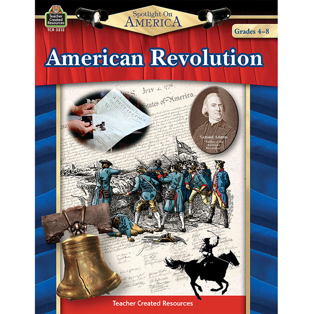 TCR3212 - Spotlight On America American Revolution in History