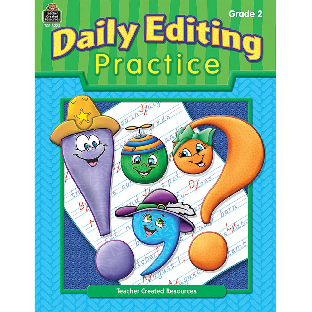 TCR3222 - Daily Editing Practice Gr 2 in Editing Skills