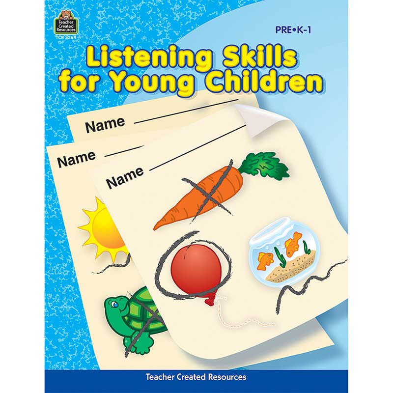 TCR3264 - Listening Skills For Young Children Early Childhood in Language Arts