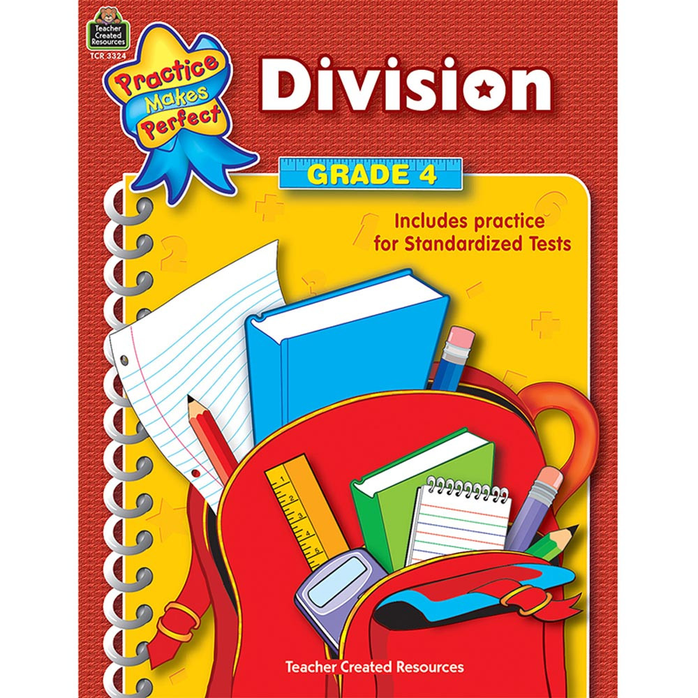 TCR3324 - Division Gr 4 Practice Makes Perfect in Multiplication & Division