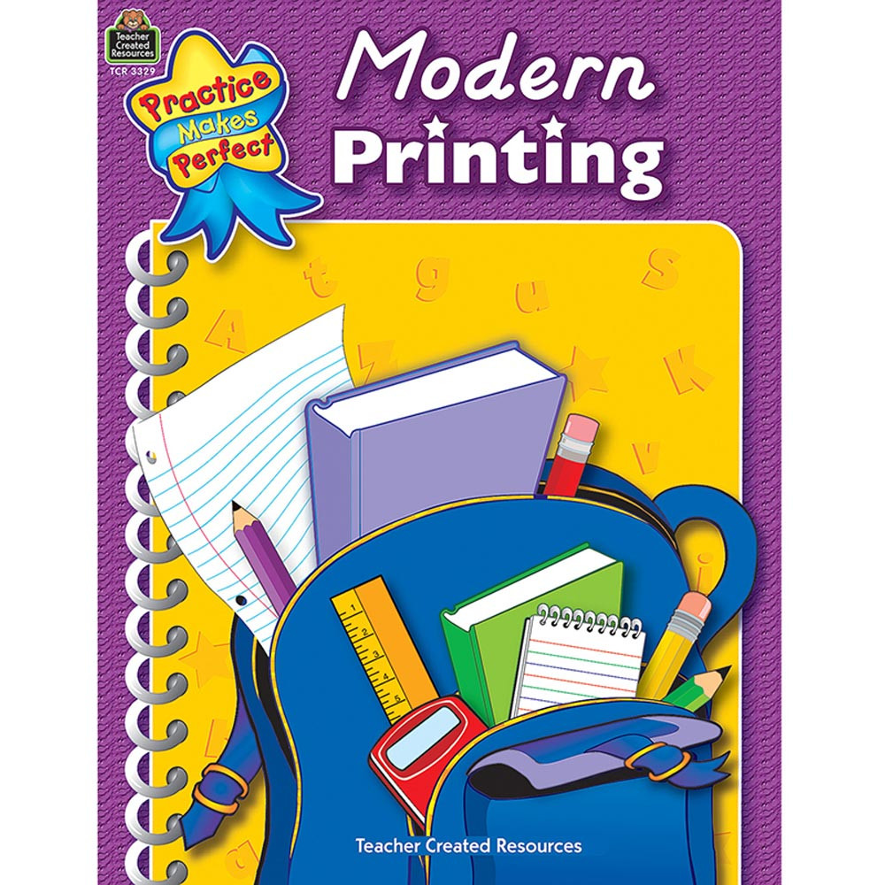 TCR3329 - Modern Printing Practice Makes Perfect in Handwriting Skills