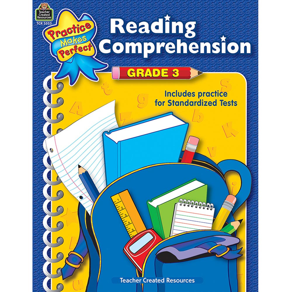 TCR3333 - Reading Comprehension Gr 3 Practice Makes Perfect in Comprehension