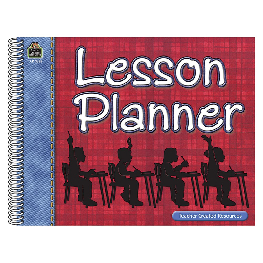 TCR3358 - Lesson Planner in Plan & Record Books