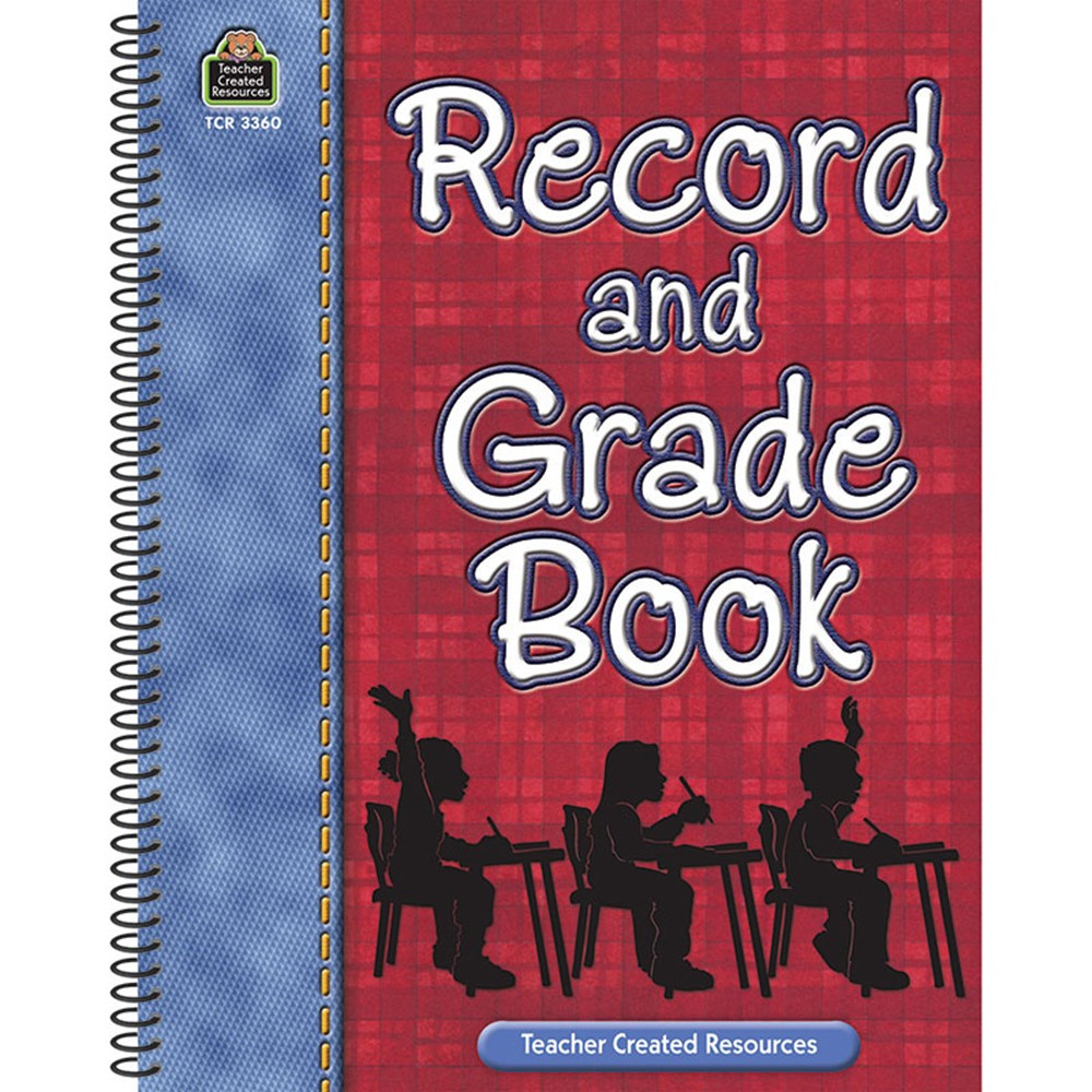 TCR3360 - Record And Grade Book in Plan & Record Books