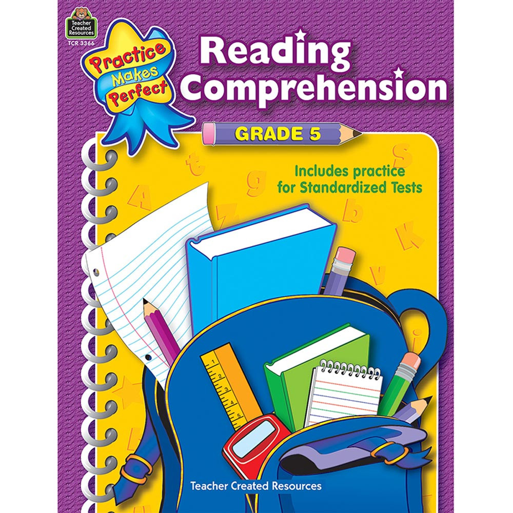 TCR3366 - Reading Comprehension Gr 5 Practice Makes Perfect in Comprehension