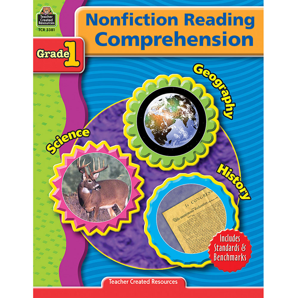 TCR3381 - Nonfiction Reading Comprehen Gr 1 in Comprehension