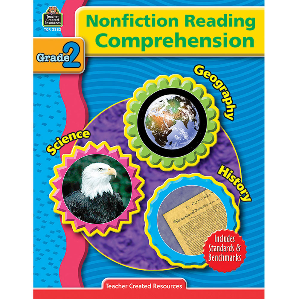 TCR3382 - Nonfiction Reading Comprehen Gr 2 in Comprehension