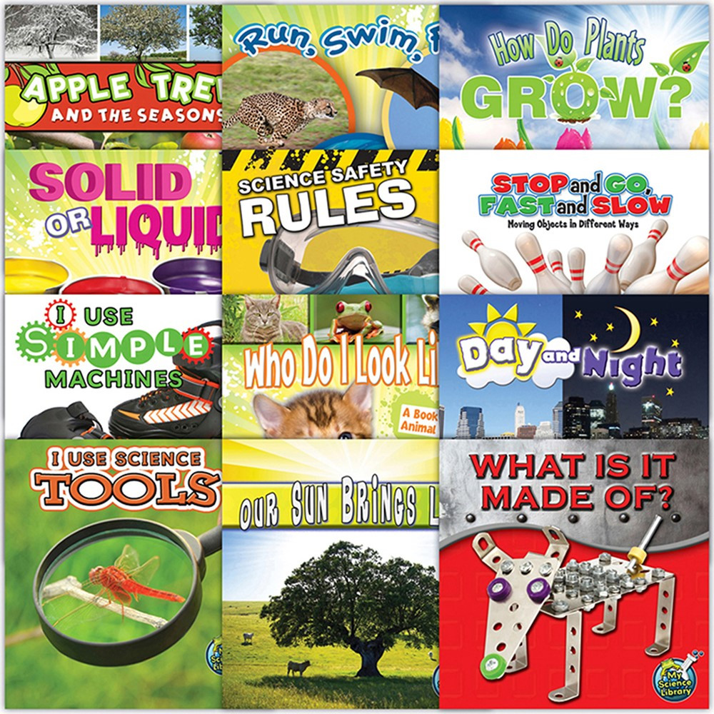 TCR362472 - My Science Library Set Of 12 Gr K-1 in Activity Books & Kits