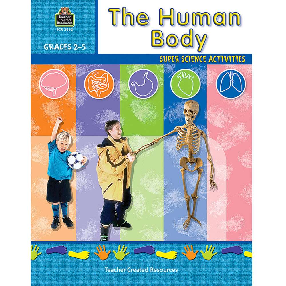 TCR3662 - The Human Body Gr 2-5 in Human Anatomy