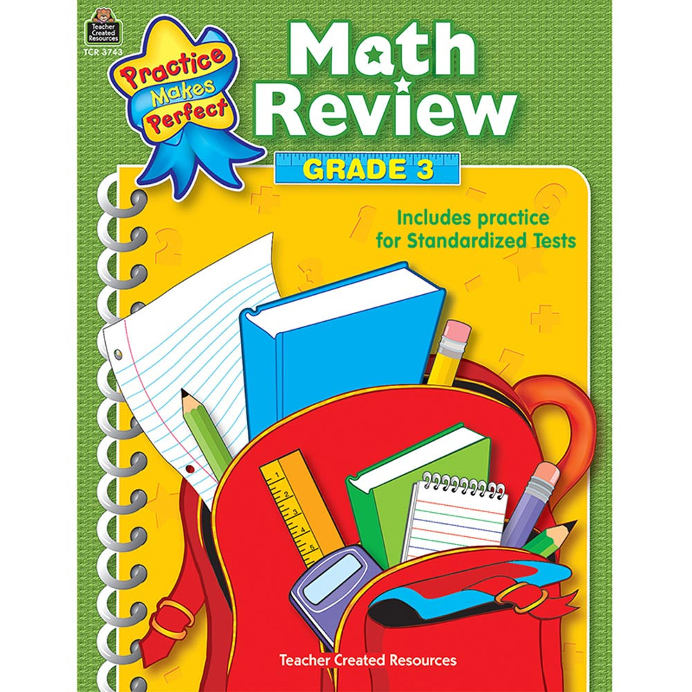 TCR3743 - Math Review Gr 3 Practice Makes Perfect in Probability