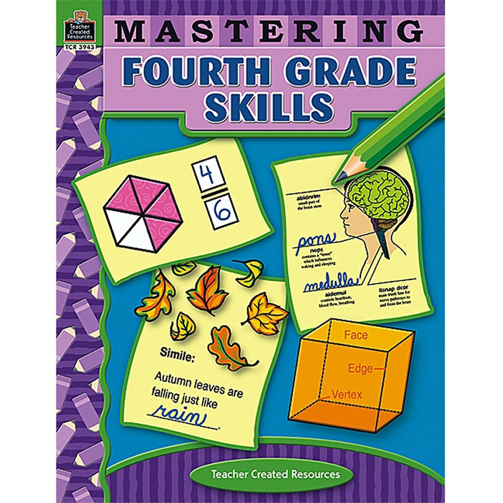 TCR3943 - Mastering Fourth Grade Skills in Skill Builders