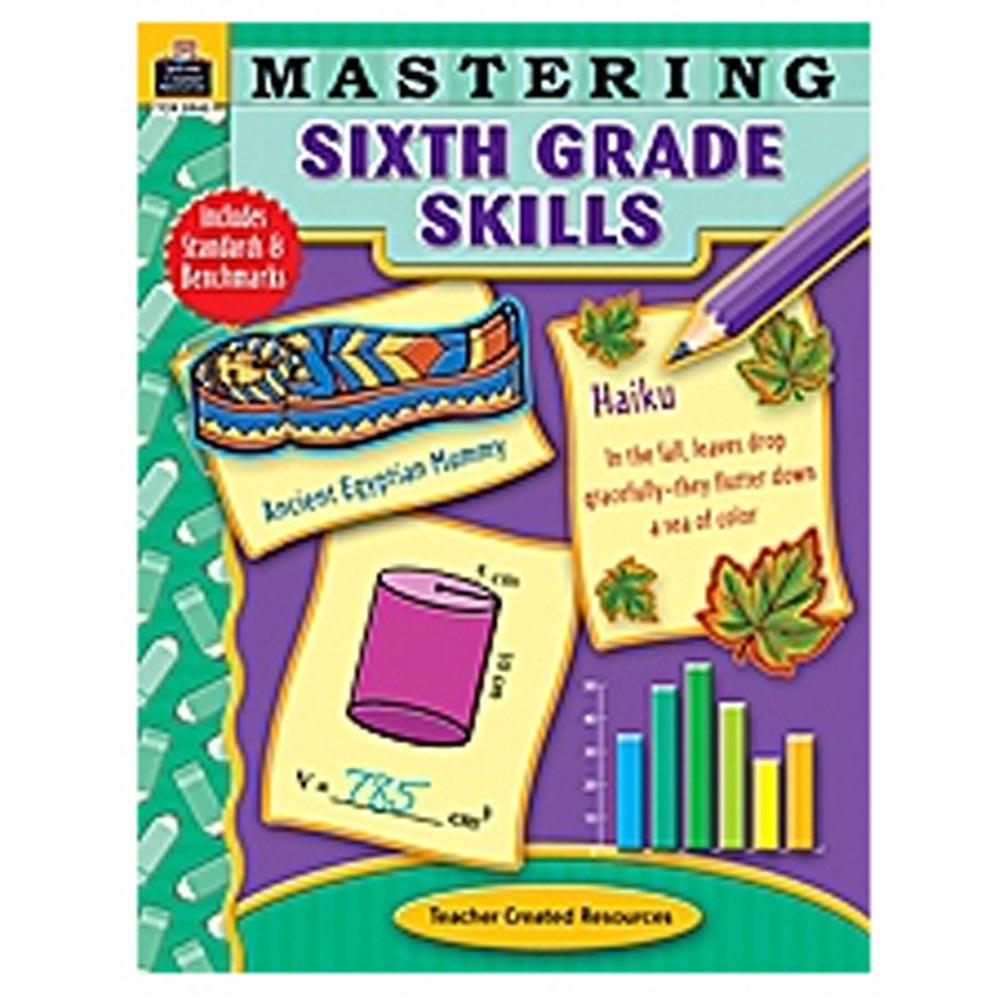 TCR3945 - Mastering Sixth Grade Skills in Skill Builders