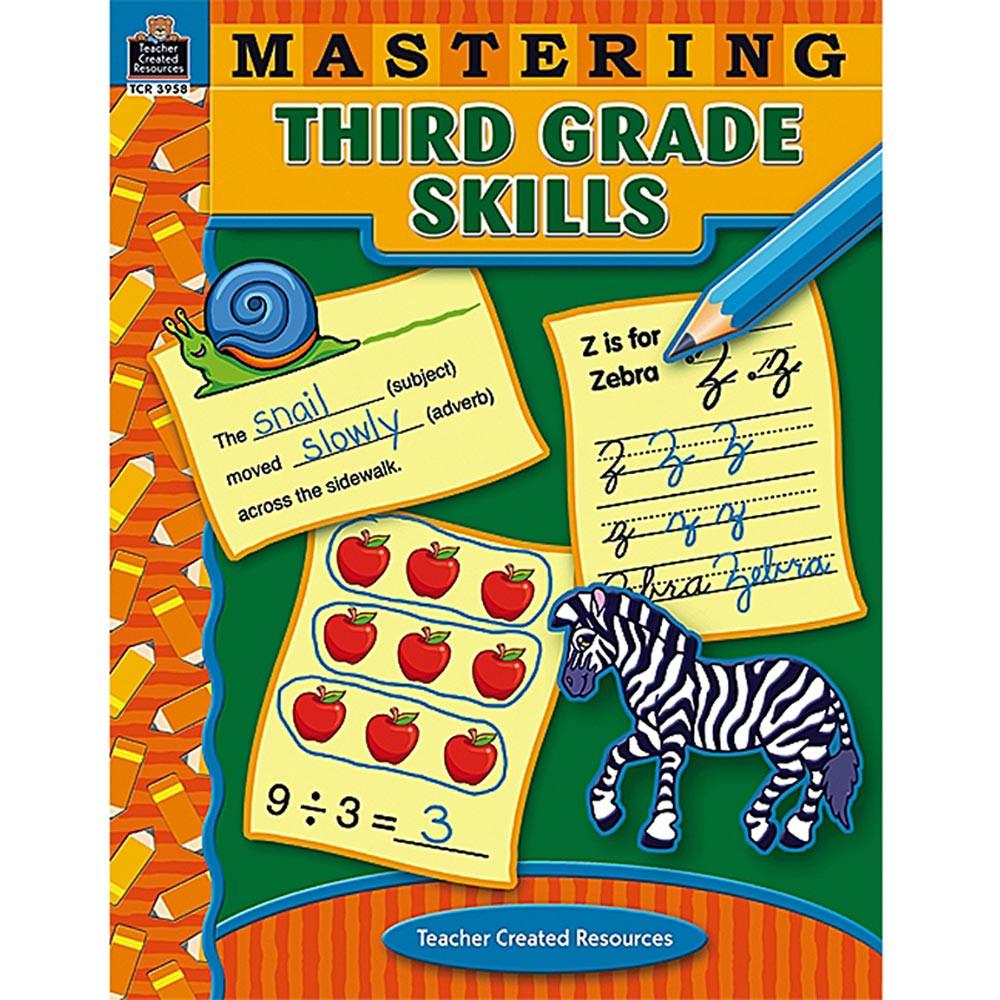 TCR3958 - Mastering Third Grade Skills in Skill Builders