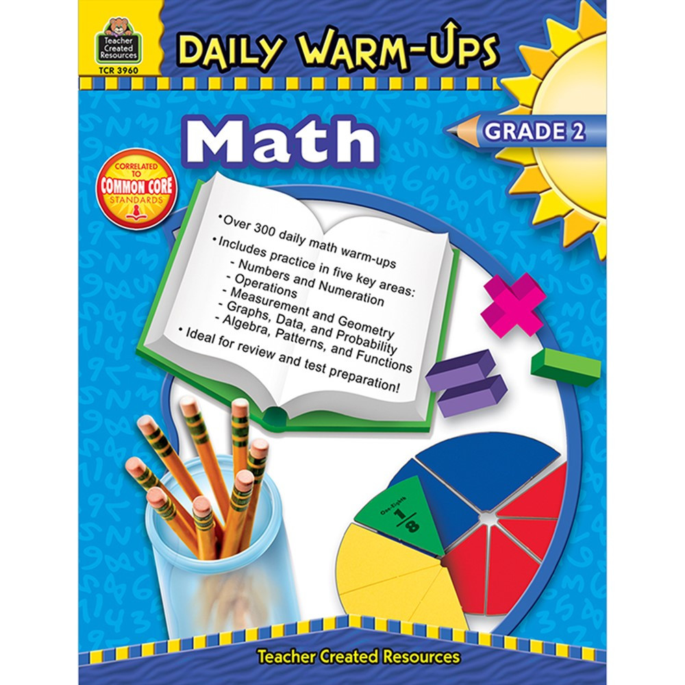 TCR3960 - Daily Warm-Ups Math Gr 2 in Activity Books