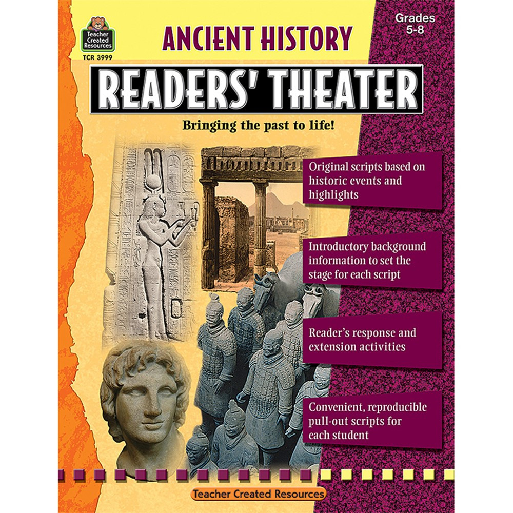 TCR3999 - Ancient History Readers Theater Gr 5-8 in History