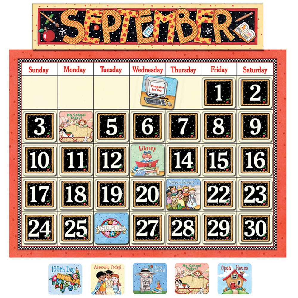 Calendar Design For Classroom : Me classroom calendar bulletin board tcr teacher
