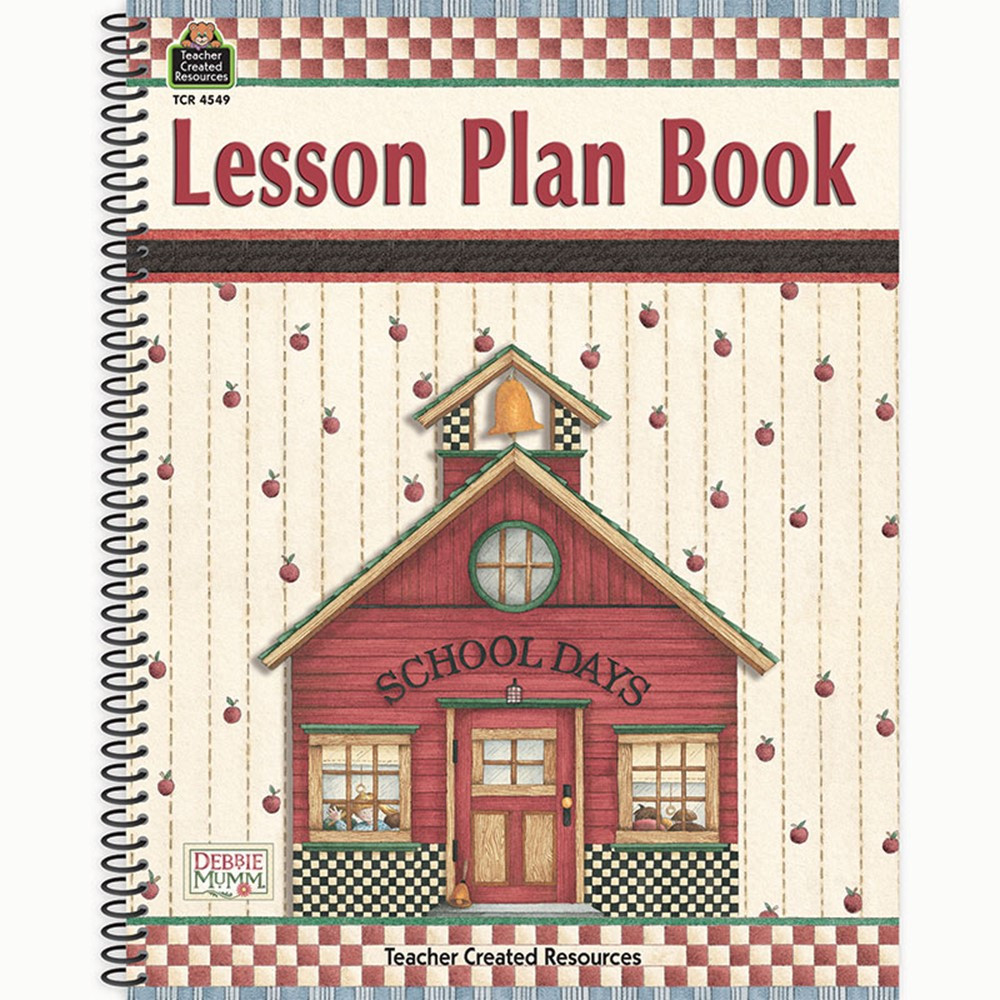 TCR4549 - Dm Lesson Plan Book in Plan & Record Books