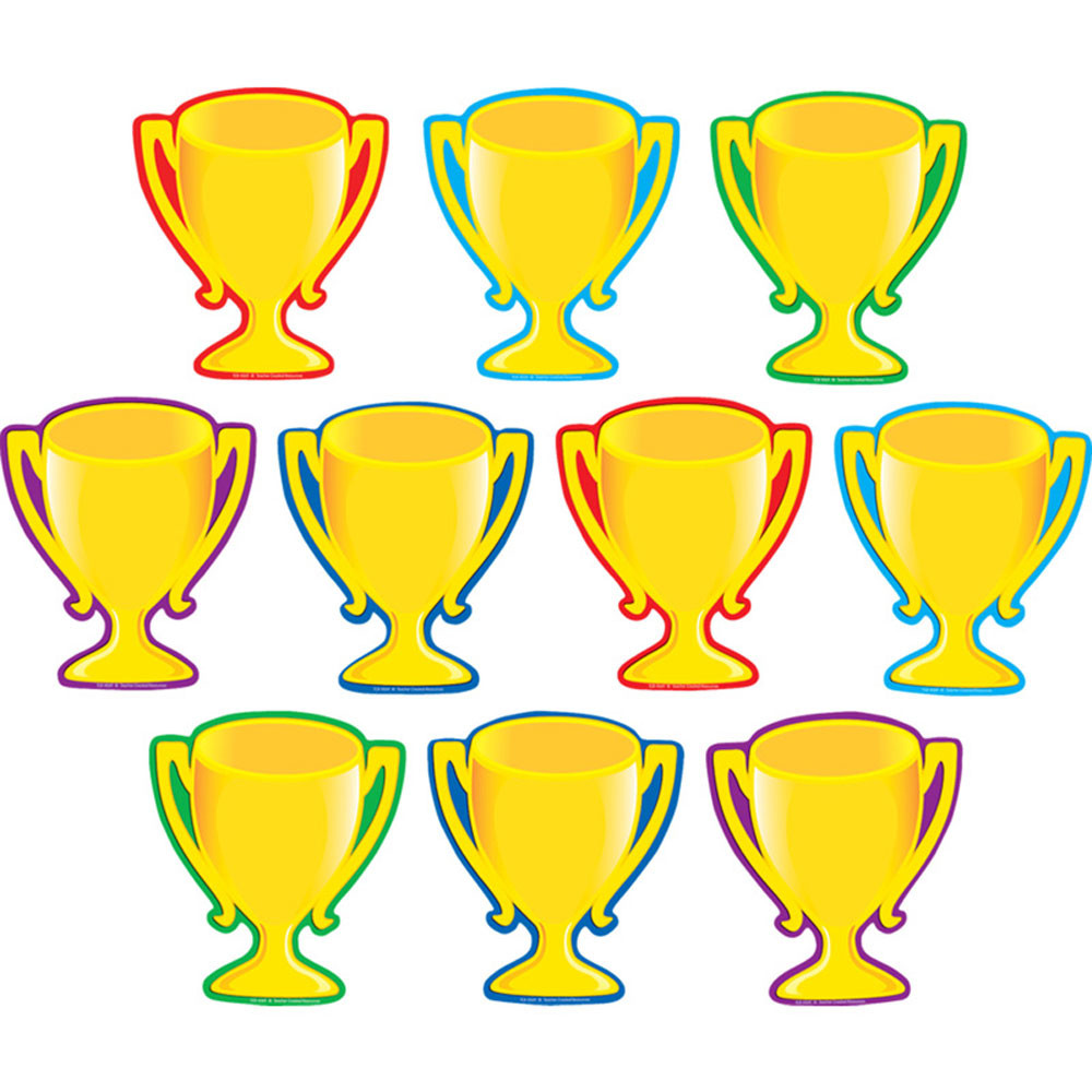 TCR4569 - Trophy Cups Accents 30/Pk in Accents