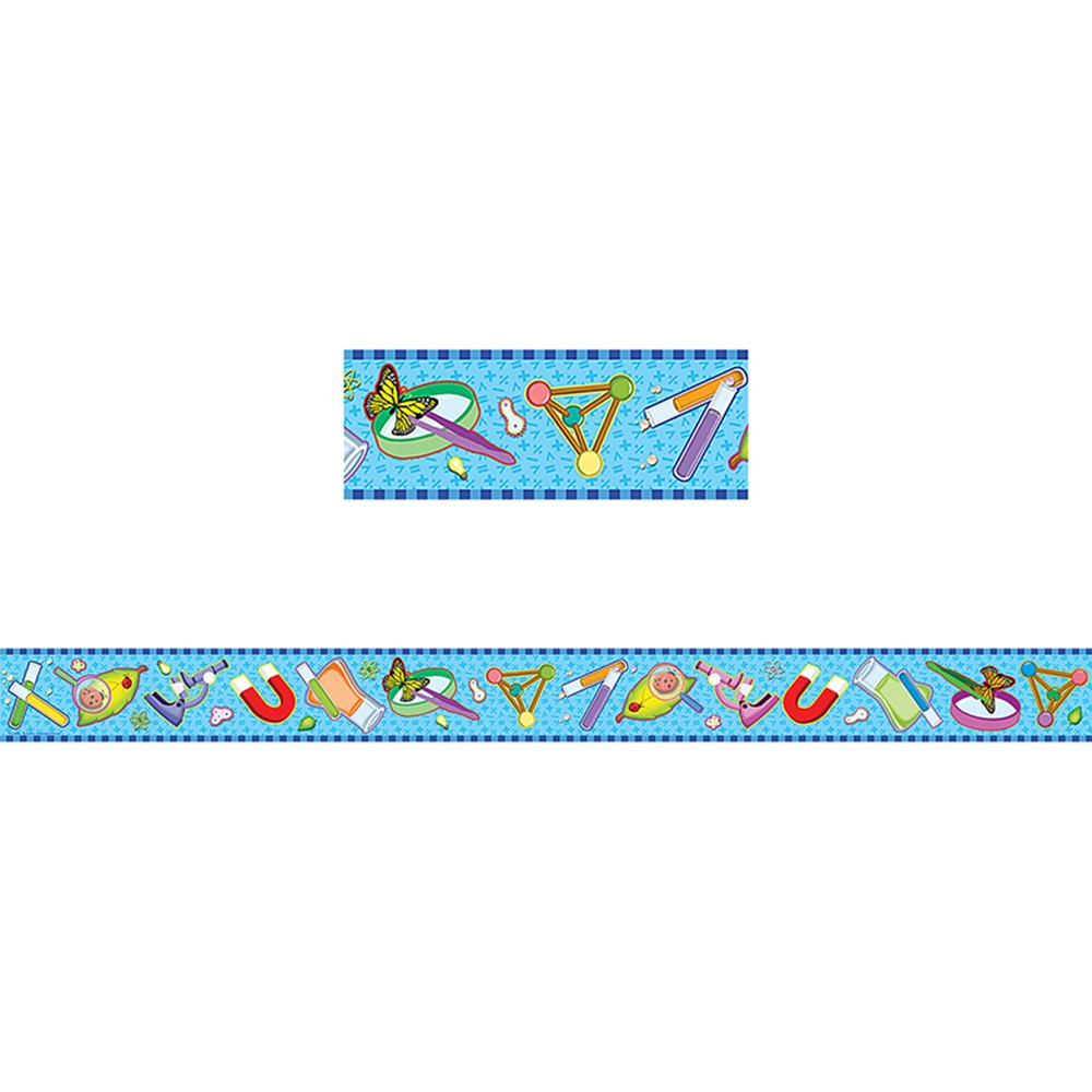Science Straight Border Trim Tcr4682 Teacher Created Resources Border Trimmer
