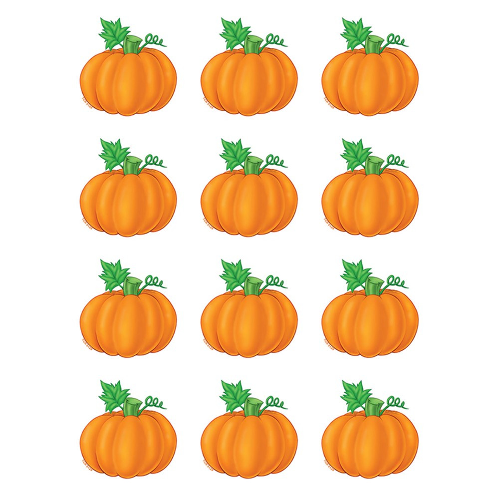 TCR5129 - Pumpkins Mini Accents in Holiday/seasonal