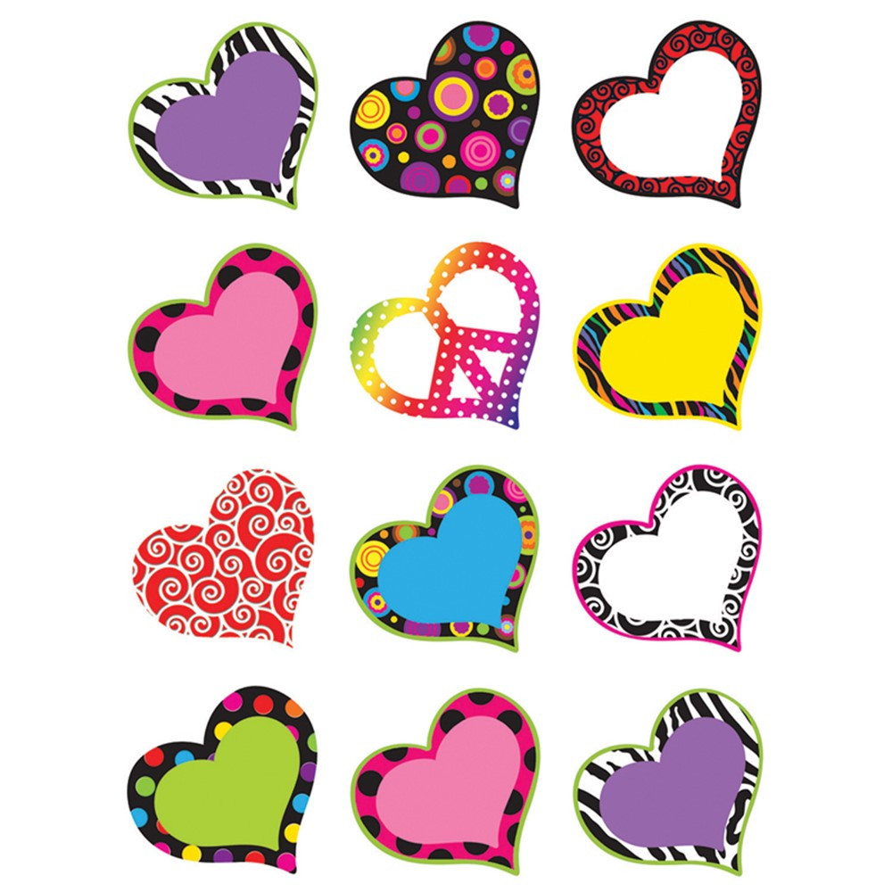 TCR5184 - Hearts Mini Accents in Accents