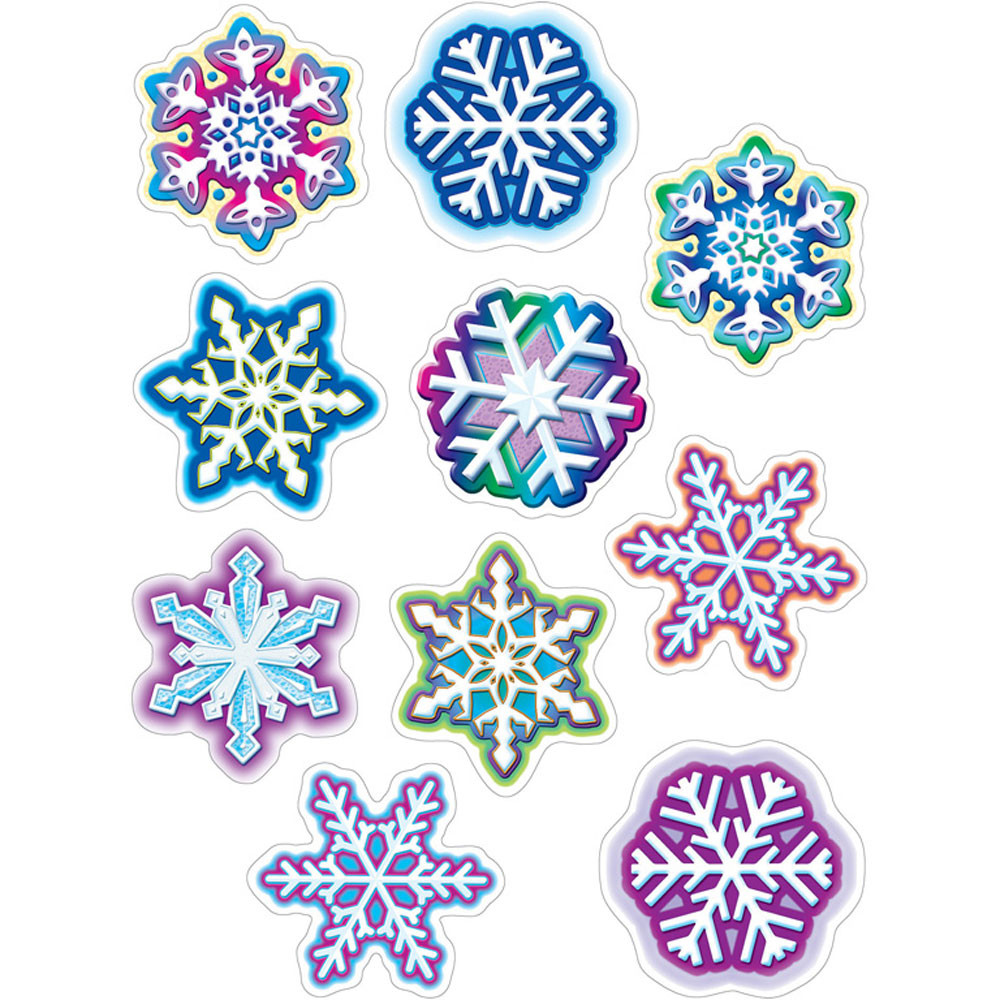 TCR5243 - Snowflakes Accents in Holiday/seasonal