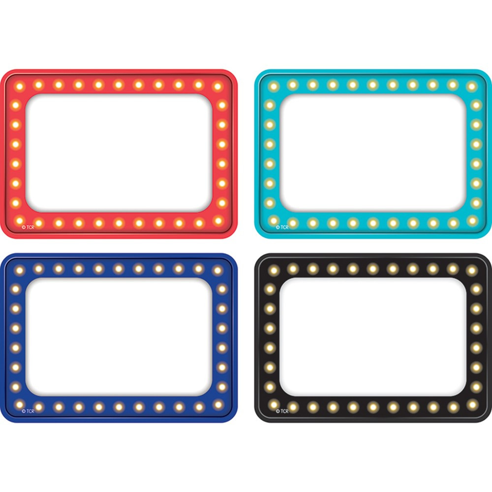 TCR5433 - Marquee Name Tag Labels Multi Pack in Name Tags