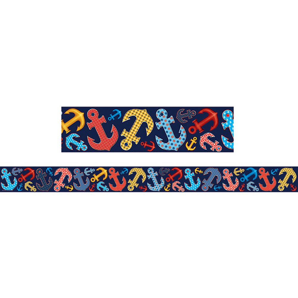 TCR5476 - Anchors Straight Border Trim in Border/trimmer