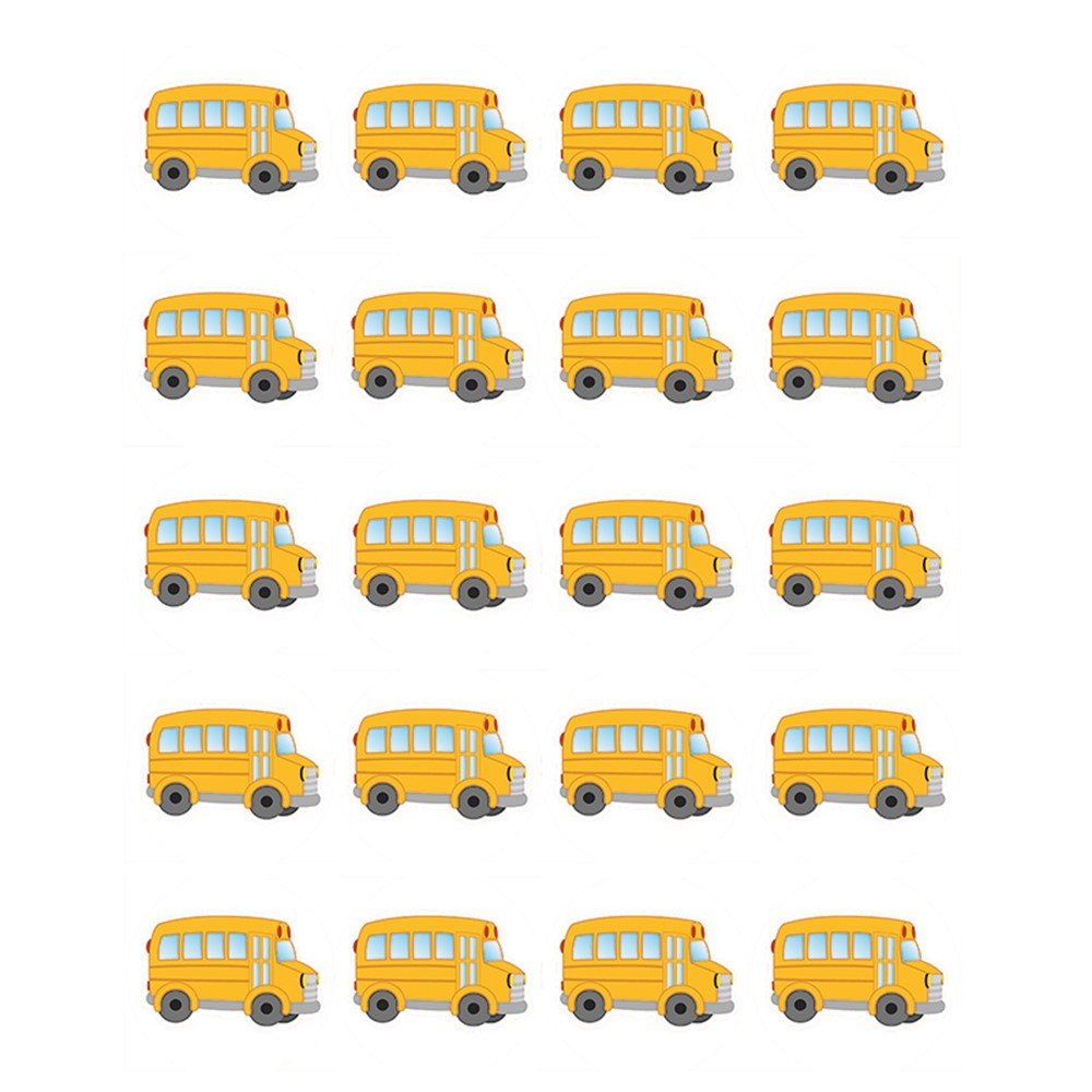 TCR5651 - School Bus Stickers in Stickers