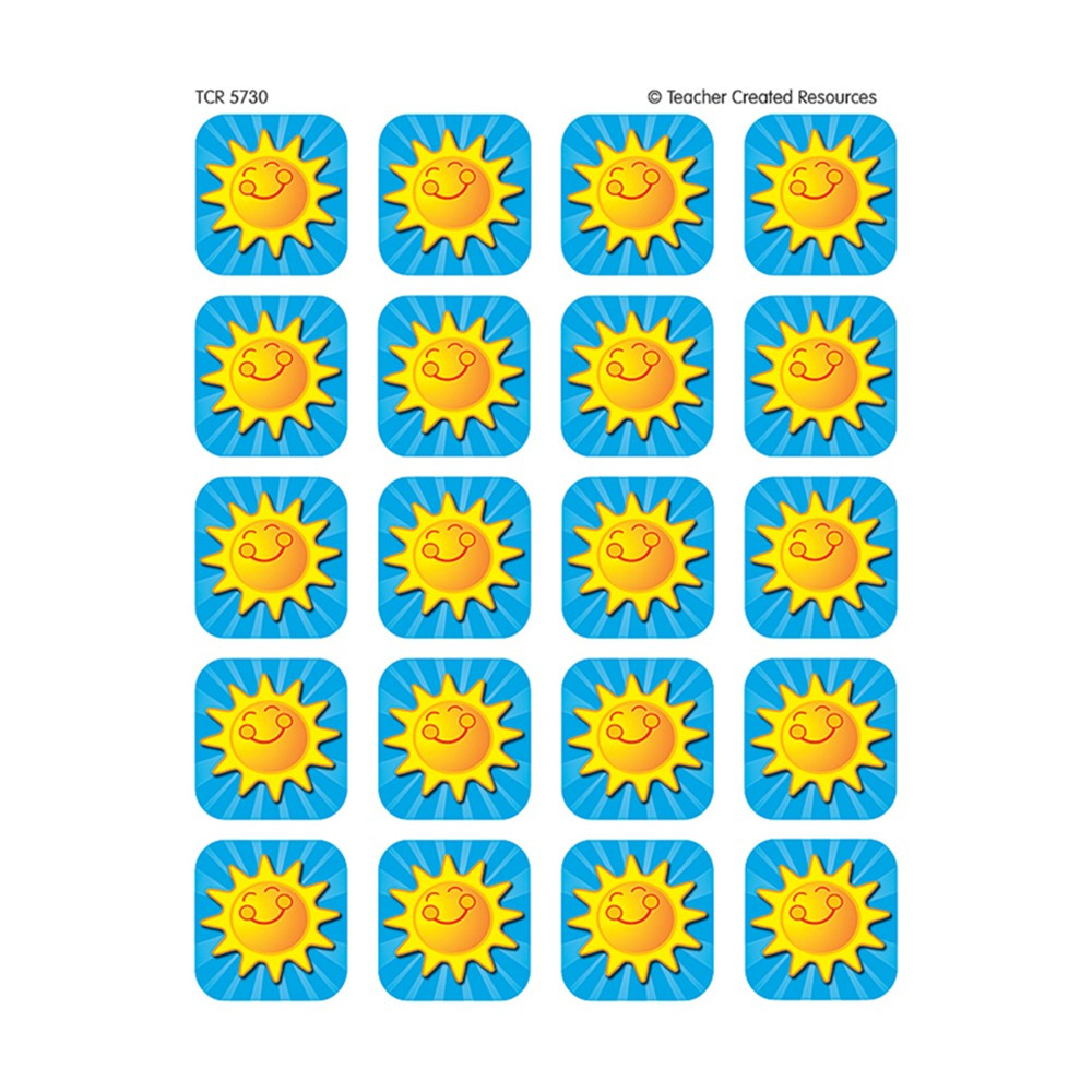 TCR5730 - Summer Sunshine Stickers 120 Stks in Stickers
